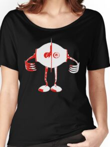 Boon - Red - Robot Women's Relaxed Fit T-Shirt