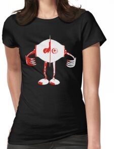 Boon - Red - Robot Womens Fitted T-Shirt