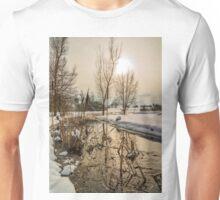Winter Landscape, Southern Germany Unisex T-Shirt