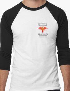 Winners v Quitters Tee Men's Baseball ¾ T-Shirt