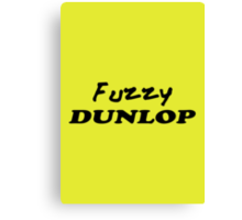 The Wire - Fuzzy Dunlop Canvas Print