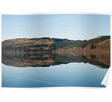 Lake Vrynwy Poster