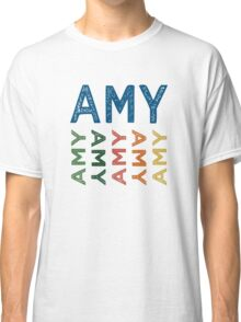 Amy Cute Colorful Classic T-Shirt