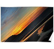 Llandudno Sunset Poster