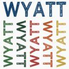 Wyatt Cute Colorful by Wordy Type