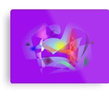 Small World Purple  Metal Print