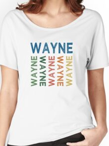 Wayne Cute Colorful Women's Relaxed Fit T-Shirt