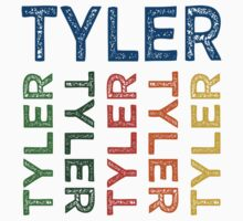 Tyler Cute Colorful by Wordy Type