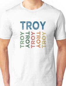 Troy Cute Colorful Unisex T-Shirt