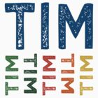 Tim Cute Colorful by Wordy Type
