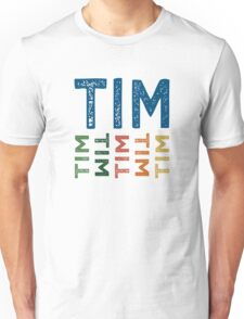Tim Cute Colorful Unisex T-Shirt