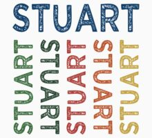 Stuart Cute Colorful by Wordy Type