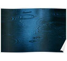 Rain Puddle Poster