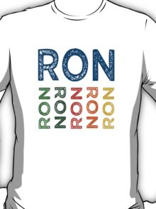 Ron Cute Colorful T-Shirt