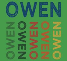 Owen Cute Colorful One Piece - Short Sleeve