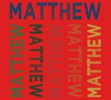Matthew Cute Colorful Baby Tee