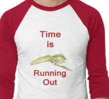 Time Is Running Out, T Shirts & Hoodies. ipad & iphone cases Men's Baseball ¾ T-Shirt