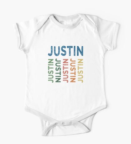Justin Cute Colorful One Piece - Short Sleeve