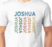 Joshua Cute Colorful Unisex T-Shirt
