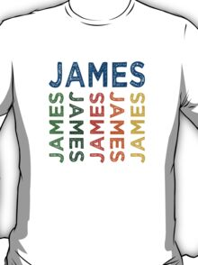 James Cute Colorful T-Shirt