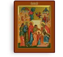 The Presentation of Mary Canvas Print