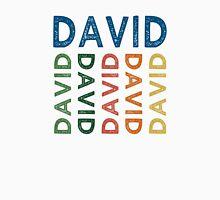 David Cute Colorful Unisex T-Shirt