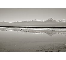 Vast Salt Flats Photographic Print