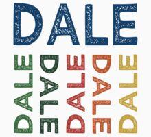 Dale Cute Colorful Kids Tee