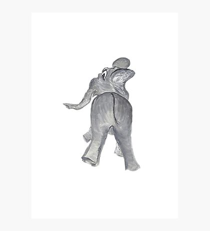 Ellie the Elephant Photographic Print