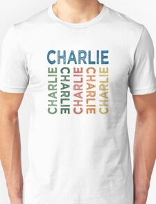 Charlie Cute Colorful T-Shirt