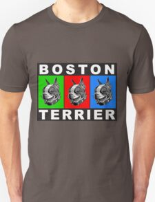 boston warhol triptych Unisex T-Shirt