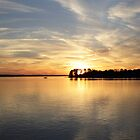 Lake Murray Sunset by Widcat