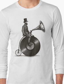 Music Man in the City Long Sleeve T-Shirt