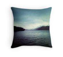 Loch Lomond and Ben Lomond Throw Pillow