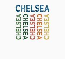 Chelsea Cute Colorful Womens Fitted T-Shirt