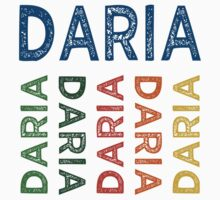 Daria Cute Colorful by Wordy Type