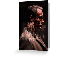 Catching Killers Greeting Card