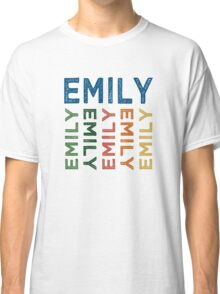 Emily Cute Colorful Classic T-Shirt
