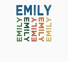 Emily Cute Colorful Womens Fitted T-Shirt