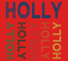 Holly Cute Colorful Kids Tee