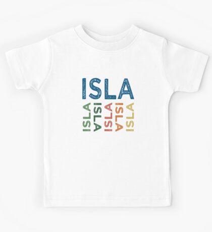 Isla Cute Colorful Kids Tee