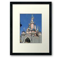 Up Close Castle Framed Print