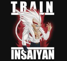 Train insaiyan - Baby Vegeta super saiyan 4 by Ali Gokalp