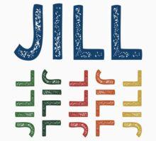 Jill Cute Colorful One Piece - Short Sleeve
