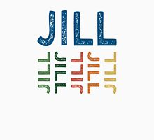 Jill Cute Colorful Womens Fitted T-Shirt