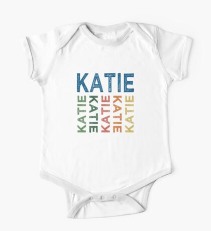 Katie Cute Colorful One Piece - Short Sleeve