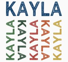 Kayla Cute Colorful by Wordy Type