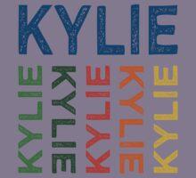 Kylie Cute Colorful Kids Tee