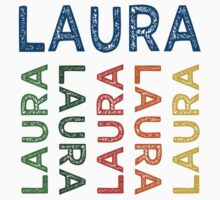 Laura Cute Colorful by Wordy Type