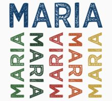 Maria Cute Colorful by Wordy Type
